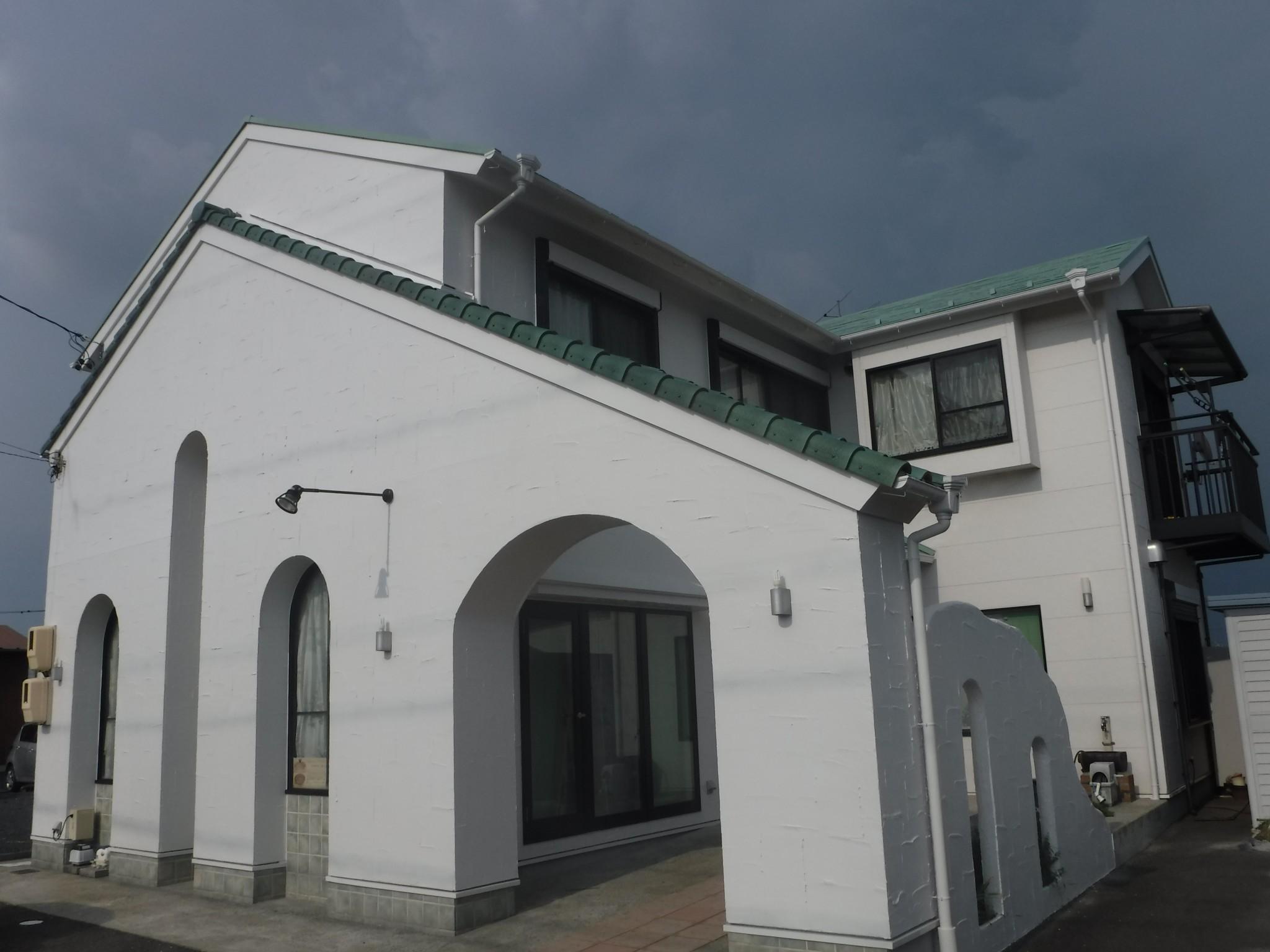稲沢市 K店舗様 外壁塗装工事
