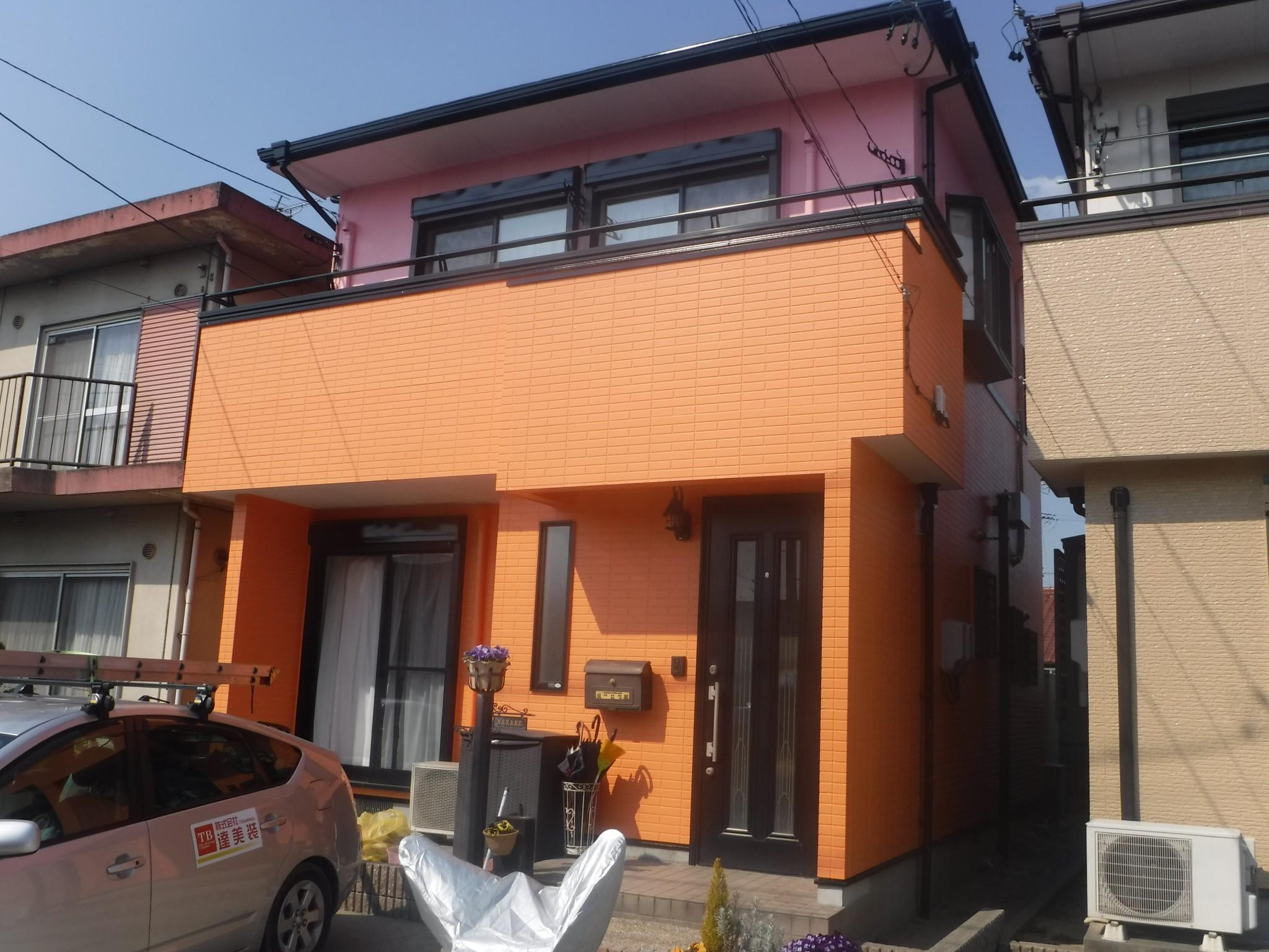 江南市 N様 外壁塗装工事