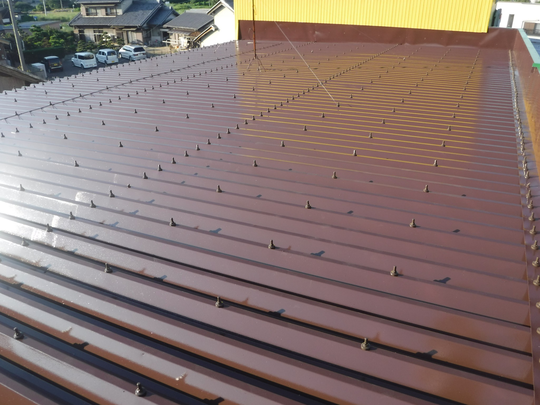 江南市 K店舗様 屋根塗装工事