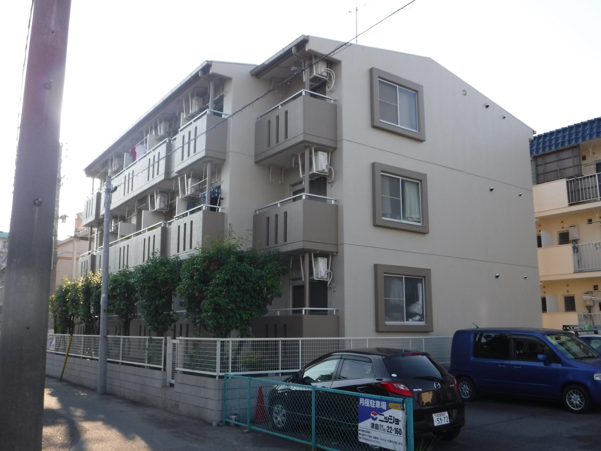 津島市 Rマンション様 外壁塗装工事