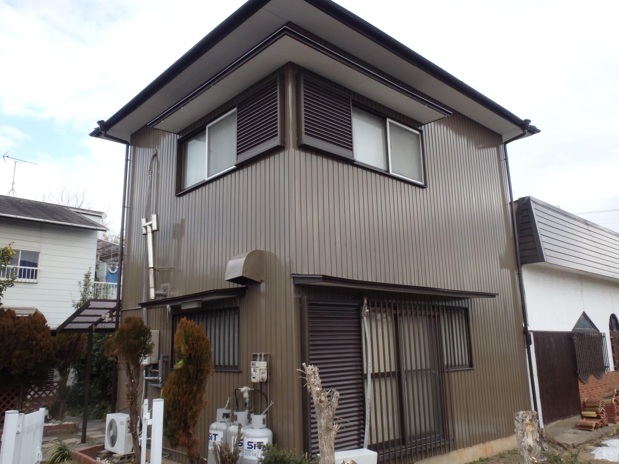 稲沢市 I様邸 外壁塗装工事