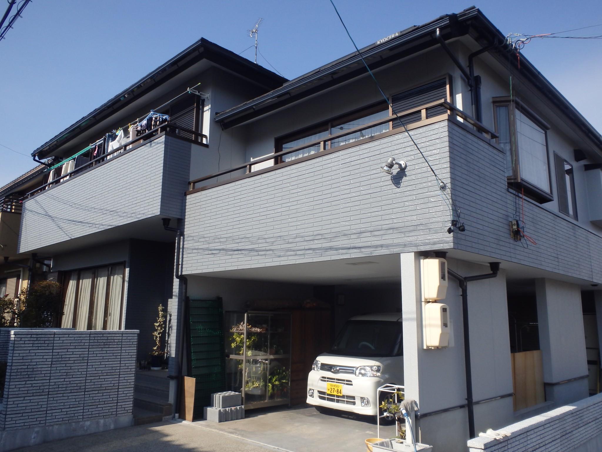 稲沢市 F様邸 外壁塗装工事