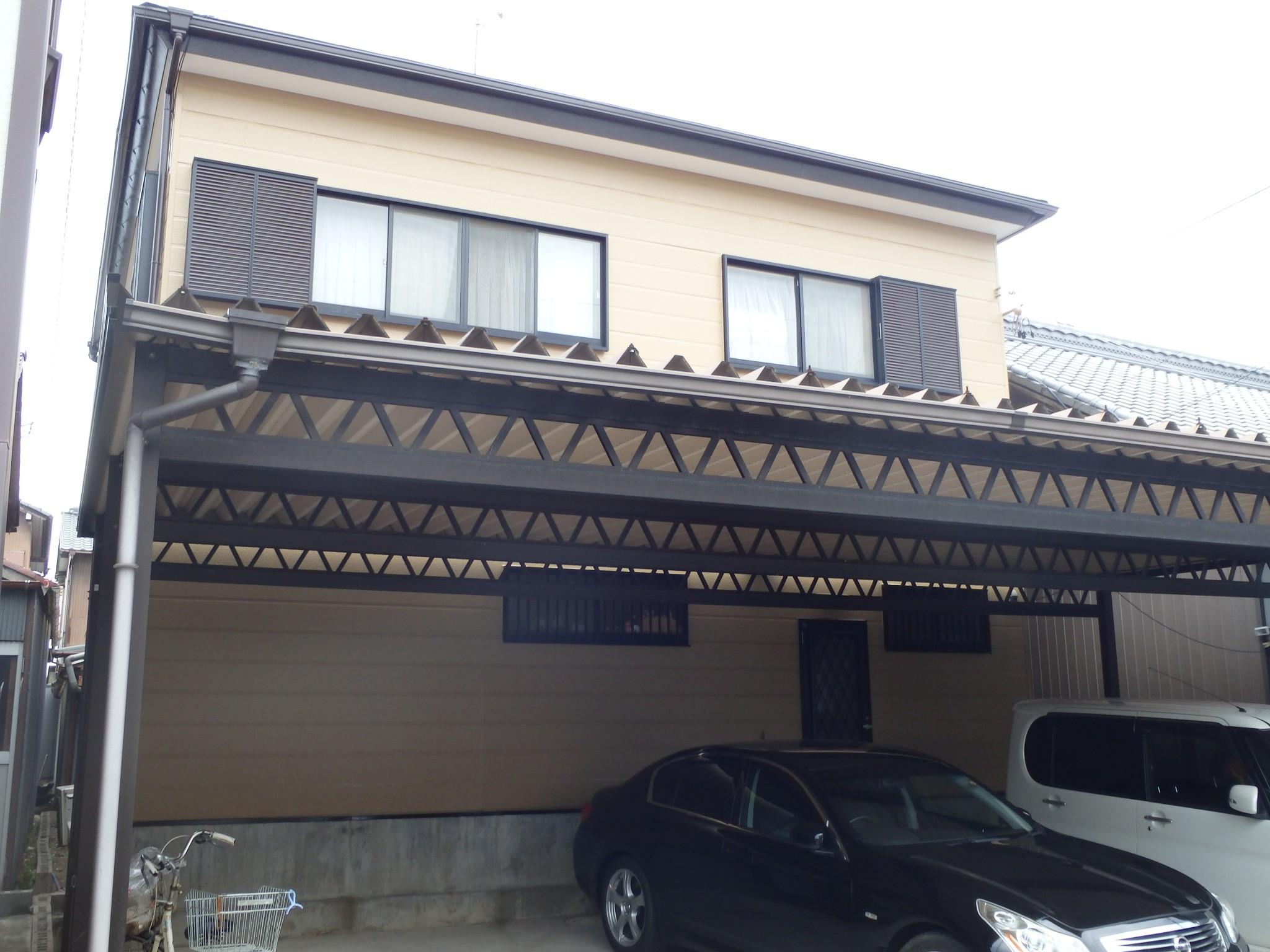 岩倉市 K様邸 外壁塗装工事