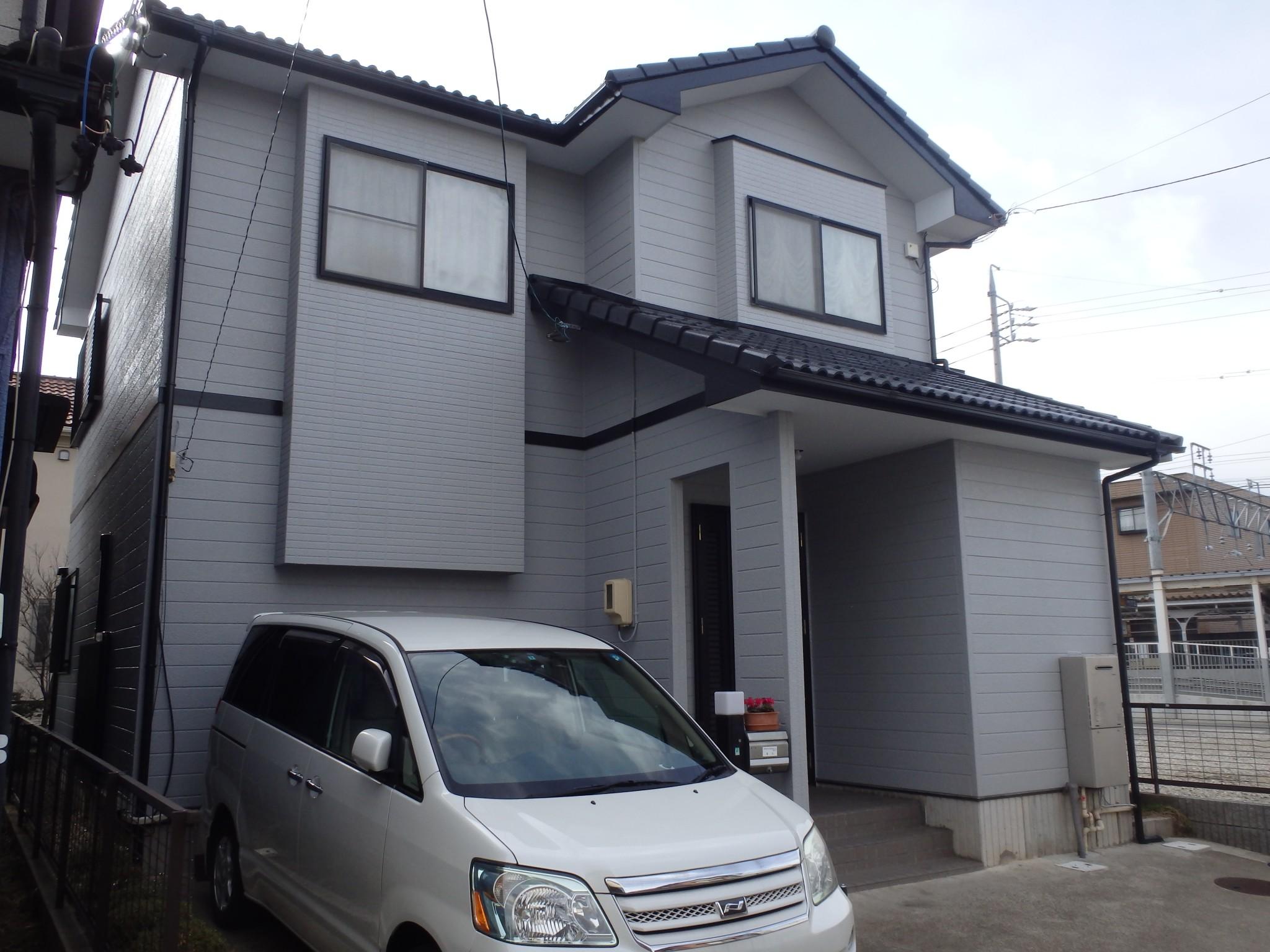 稲沢市 S様 外壁塗装・屋根塗装工事