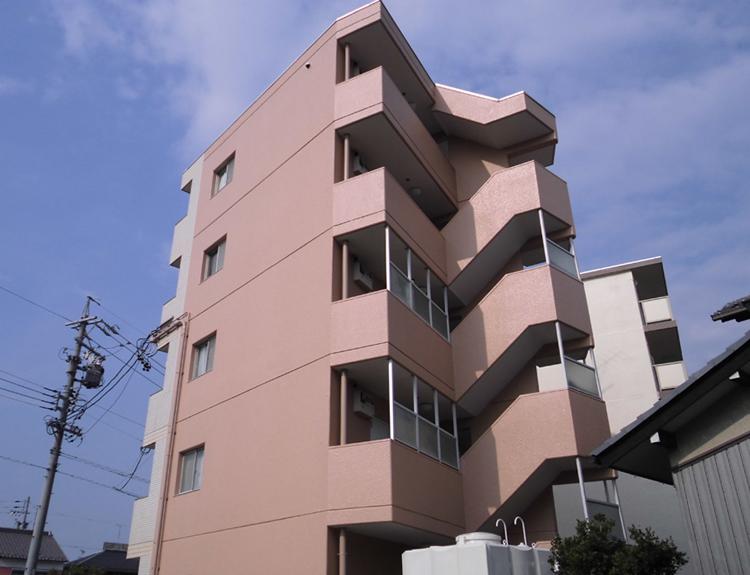 稲沢市 SマンションO様 外壁塗装工事