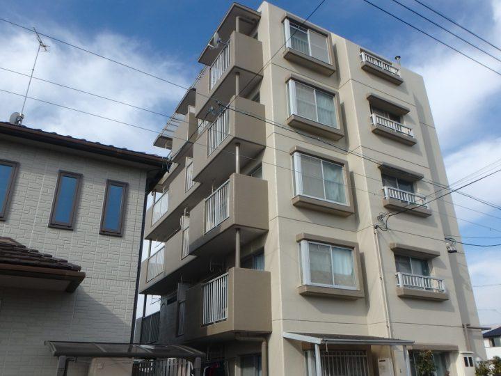 稲沢市 Tマンション様 外壁塗装工事