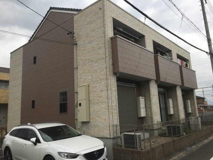 稲沢市 GアパートA様 外壁塗装・防水工事
