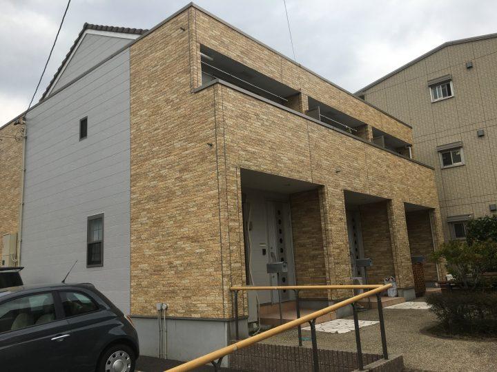 稲沢市 Gアパート様 外壁塗装・防水工事