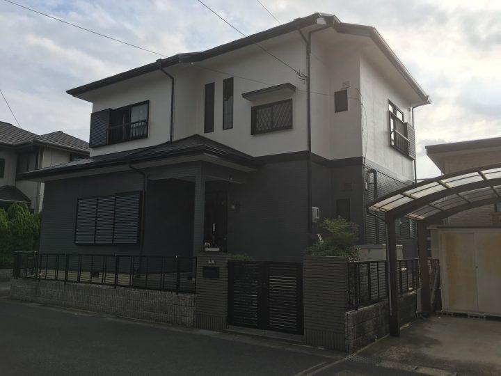 稲沢市 Y様 外壁塗装工事