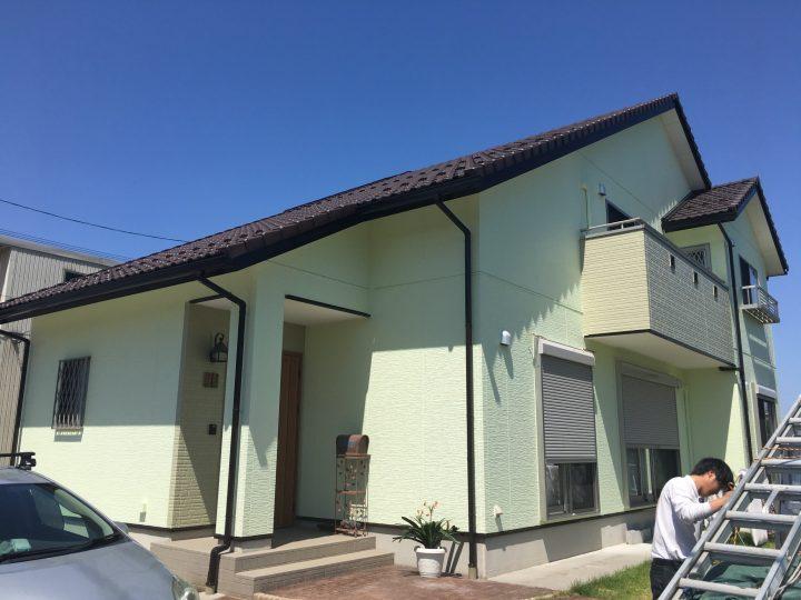 一宮市 O様 外壁塗装・防水工事