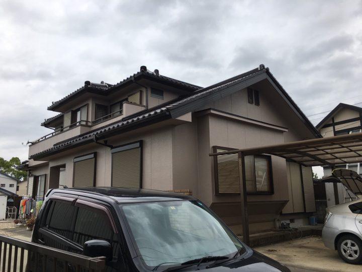 一宮市 K様 外壁塗装工事☆彡