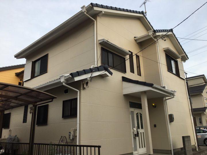 一宮市 K様 外壁塗装・屋根塗装工事☆彡