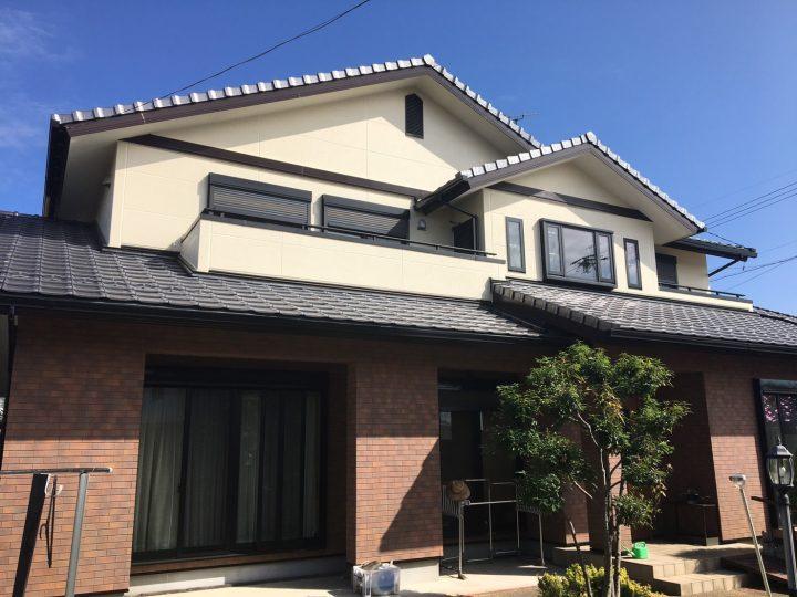 丹羽郡 T様 外壁塗装・防水工事☆彡