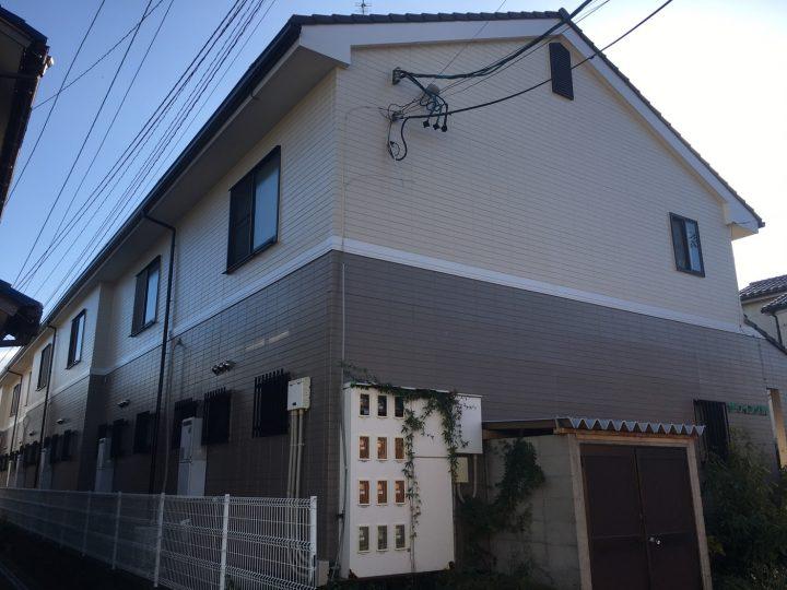 一宮市 Uアパート様 外壁塗装