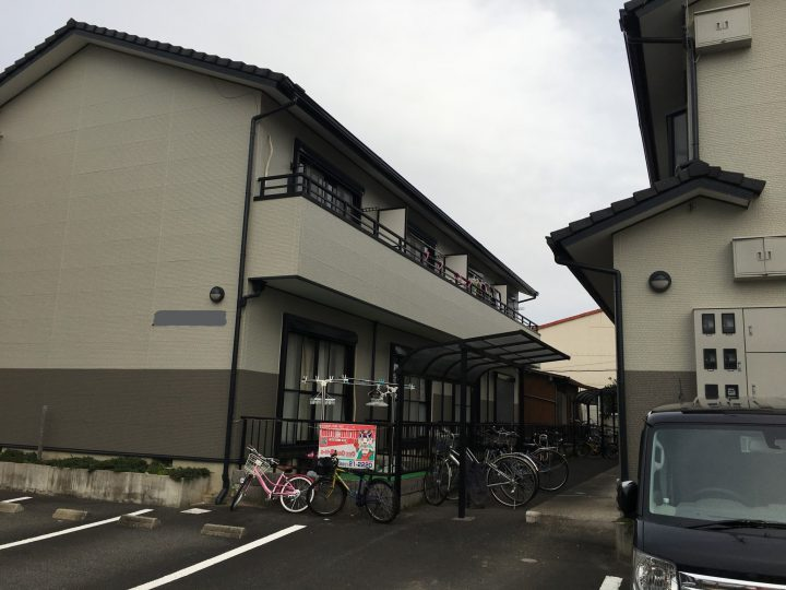稲沢市 Sアパート1様 外壁塗装・防水工事
