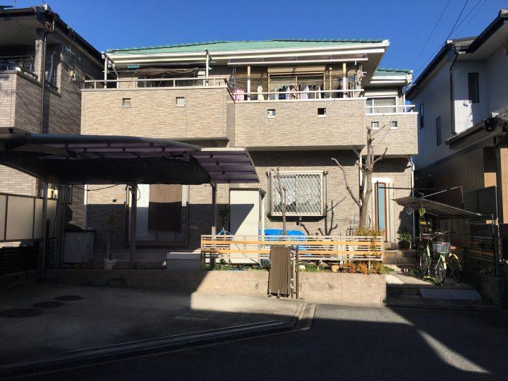 清須市 H様 外壁塗装・防水工事