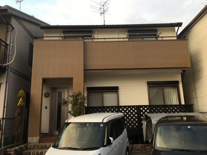 稲沢市 W様 外壁塗装