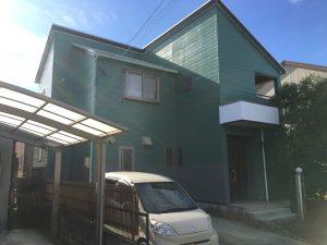 一宮市 I様 外壁塗装、屋根塗装、防水工事