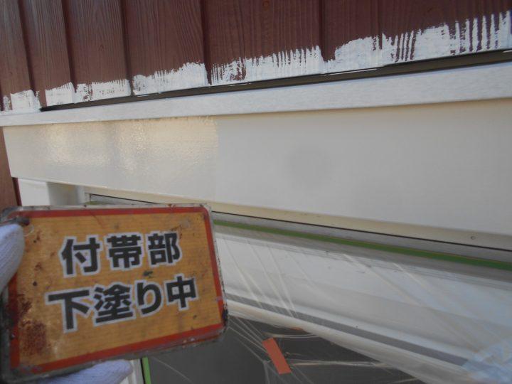 窓枠塗装①