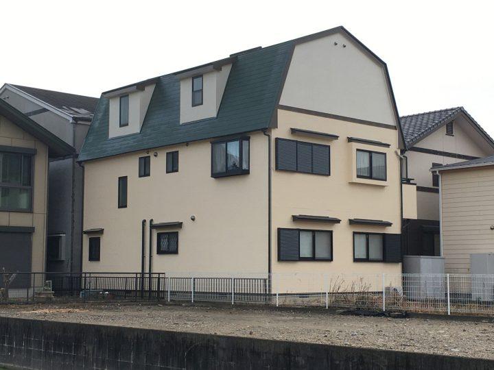 一宮市 T様 外壁塗装、屋根塗装、防水工事