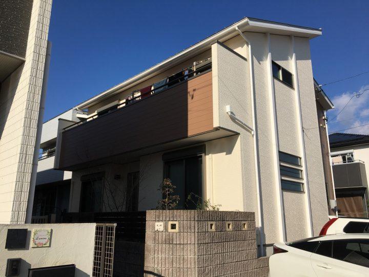 江南市 O様 外壁塗装・防水工事