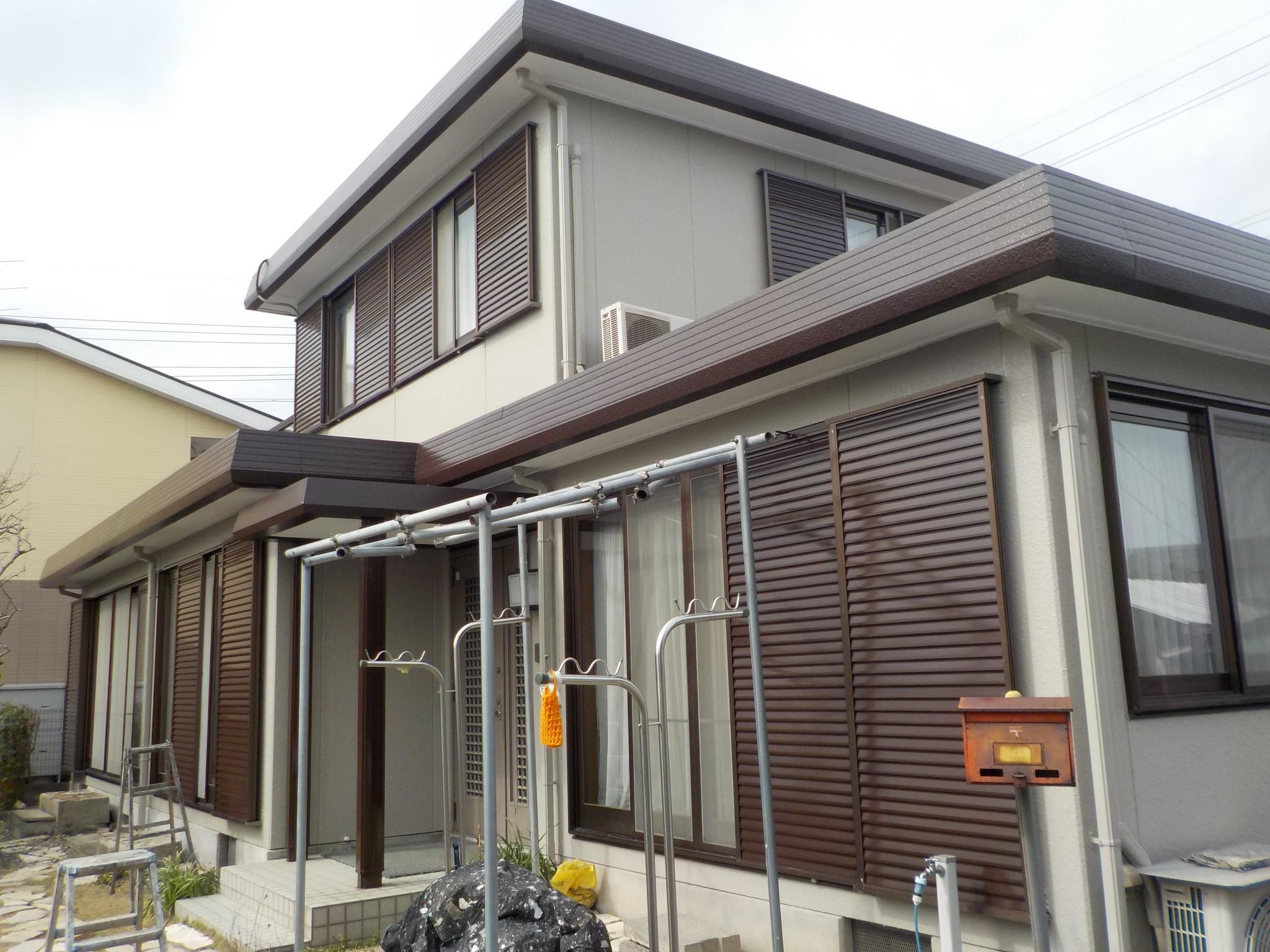 稲沢市 O様 外壁塗装工事