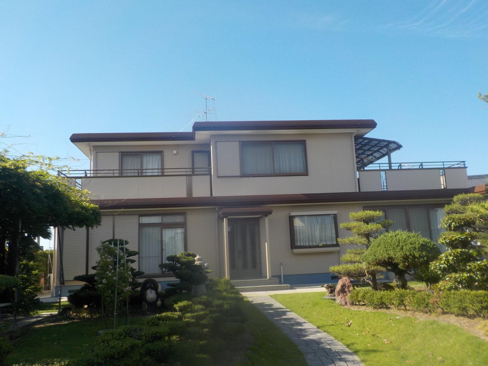 岩倉市 Ⅰ様 外壁塗装・屋根塗装工事