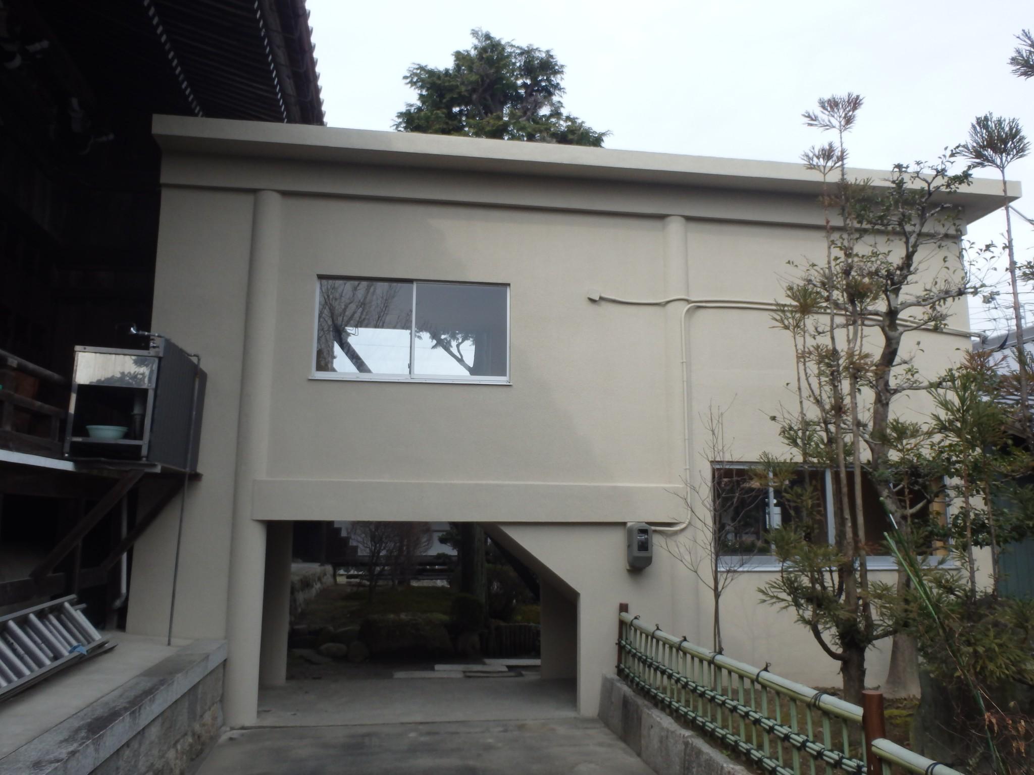 稲沢市 Z寺様 外壁塗装・屋根塗装工事