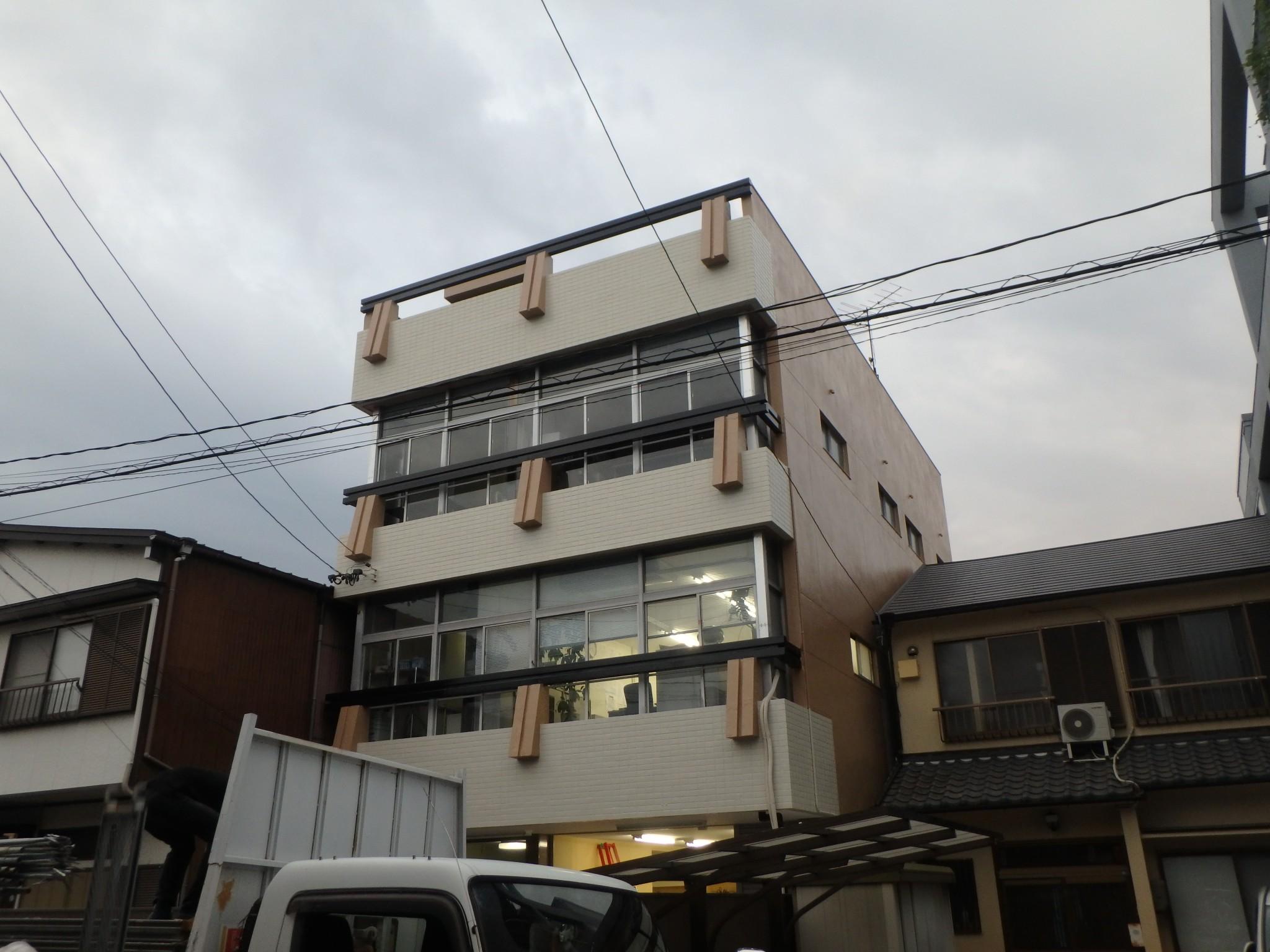 名古屋市 Aビル 外壁塗装工事