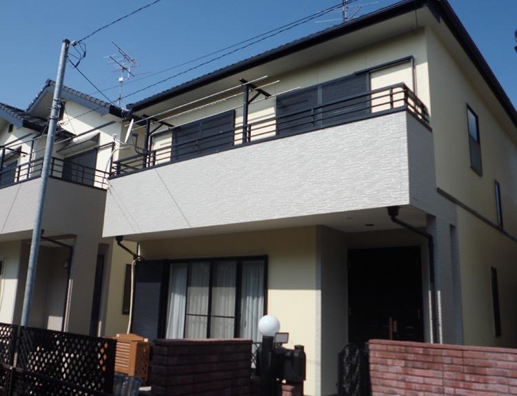 江南市W様邸 外壁塗装工事