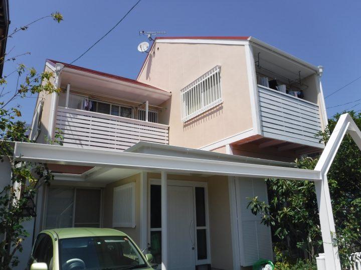 一宮市 A様 外壁塗装・屋根塗装工事