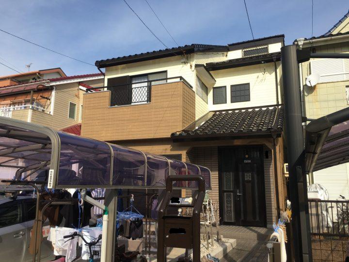 一宮市 Y様 外壁塗装・屋根塗装・防水工事
