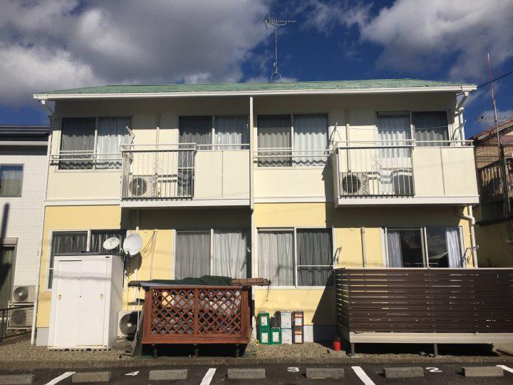 江南市 Bアパート様 外壁塗装・屋根塗装工事