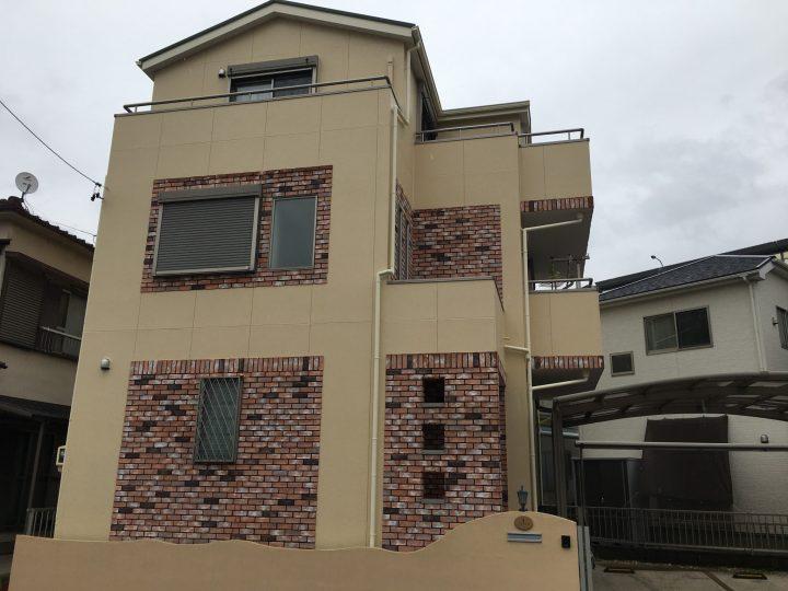 清須市 A様 外壁塗装・屋根塗装・防水工事