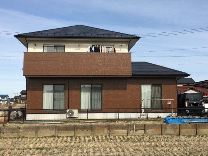 一宮市 K様 外壁塗装・防水工事・屋根塗装