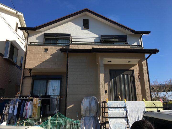 一宮市 K様 外壁塗装・屋根塗装・防水工事