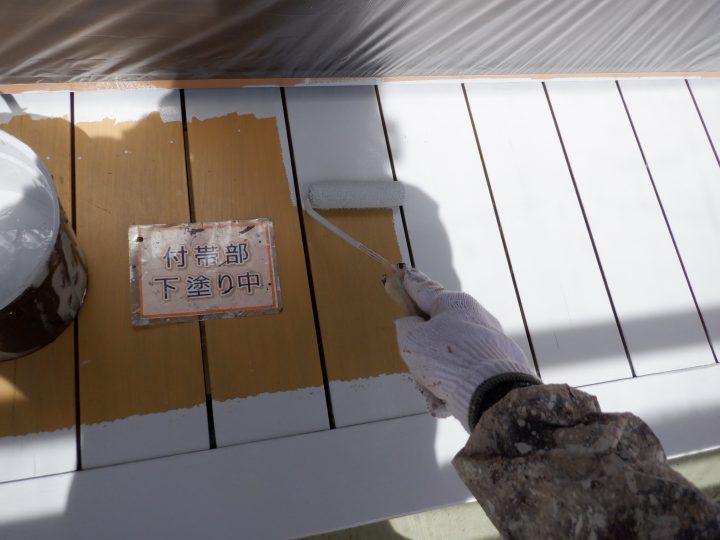 ウッドデッキ塗装①