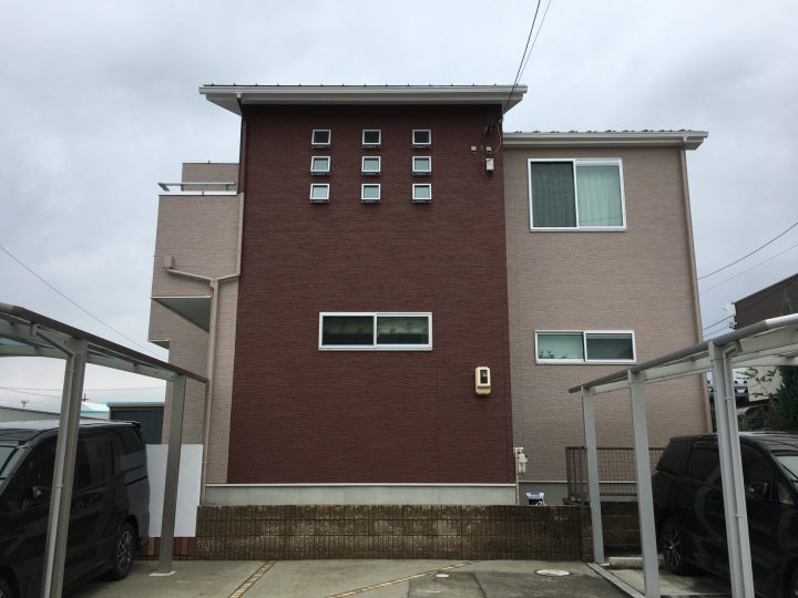 江南市 K様 外壁塗装・防水工事