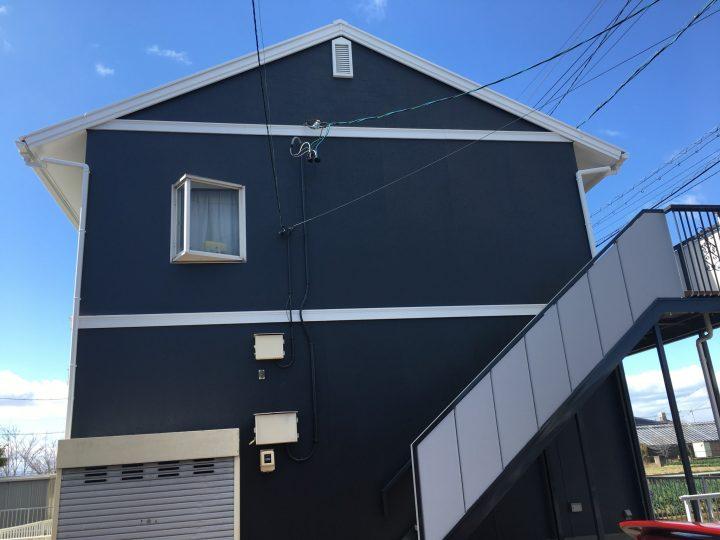 一宮市 AアパートA、B棟様 外壁塗装・屋根塗装