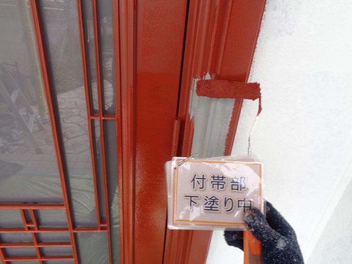 玄関扉塗装①