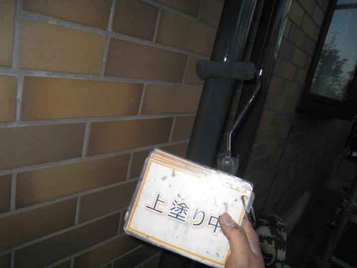 雨樋塗装②