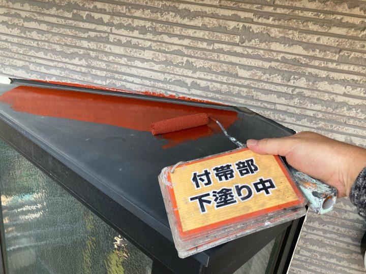 出窓塗装①