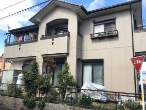 稲沢市 K様 外壁塗装・防水工事
