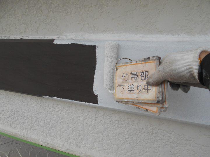 中間幕板塗装②