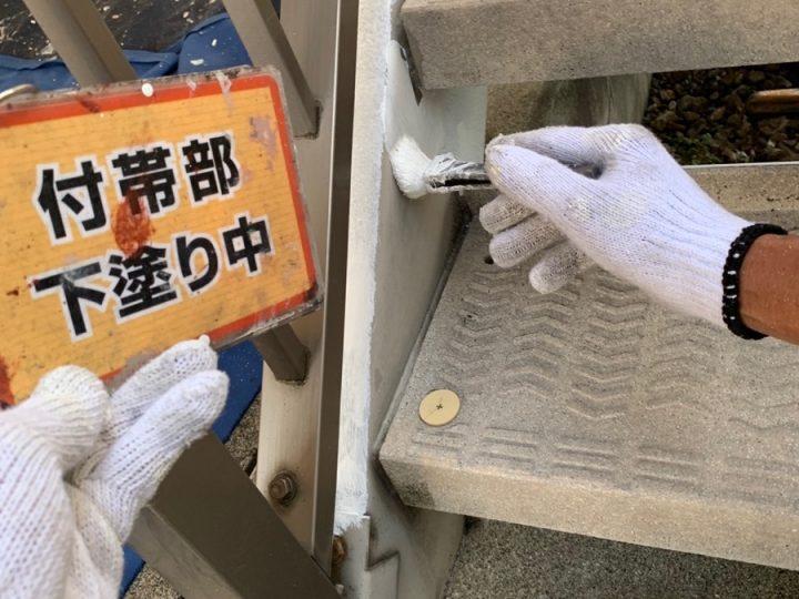階段塗装①