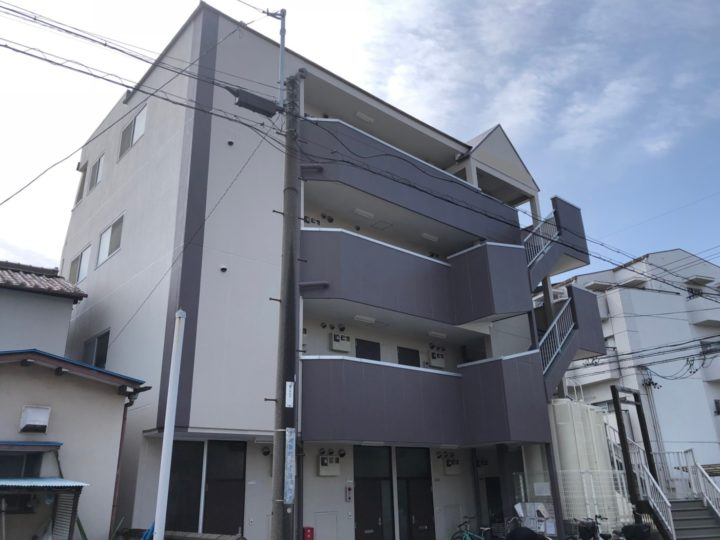 岩倉市 Sマンション様 外壁塗装・防水工事
