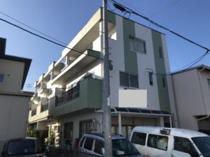 稲沢市 Fマンション様 外壁塗装・屋根塗装・防水工事