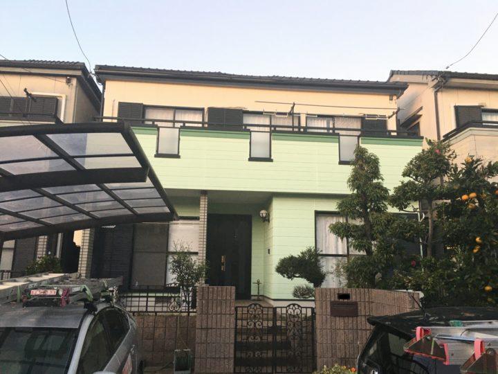 一宮市 N様 外壁塗装・防水工事
