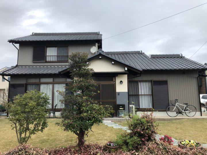 稲沢市 I様 外壁塗装・屋根塗装