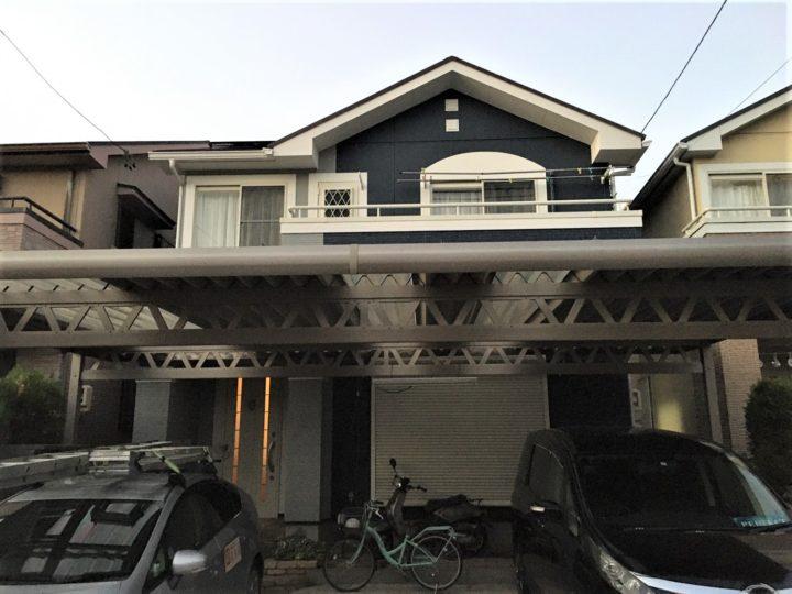 小牧市 S様 外壁塗装・屋根塗装・防水工事